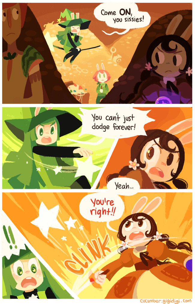 Cucumber Quest page 109